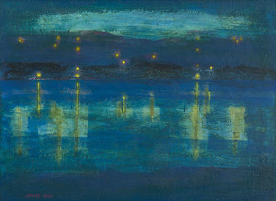 Nocturne in Blue and Gold