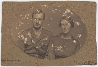 Lizzie Caswall Smith; Portrait of Harry and Edith Collier; Unknown; A2015/1/13