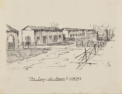 The cage at Barce (Libya)