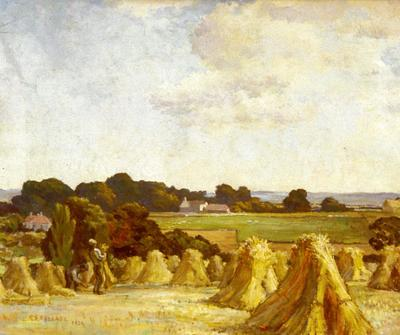 Harvesting in Sussex