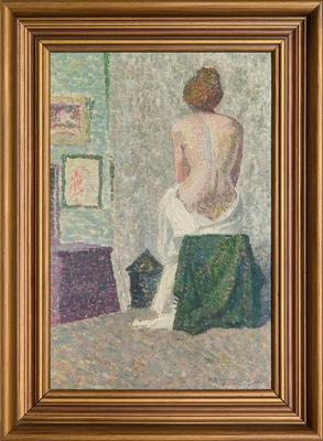 Seated Figure 1916