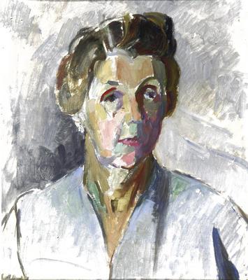 Frances Ellis; Untitled (Portrait of a Woman); Post 1950; 1980/11/4