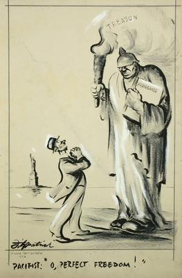 Daniel Fitzpatrick; O, Perfect Freedom; 1917/2/25