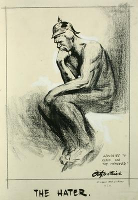 Daniel Fitzpatrick; The Hater; 1917/2/29