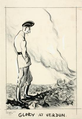 Daniel Fitzpatrick; Glory at Verdun; 1917/2/34