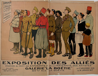 Robert de Coninck; Exposition des allies; 1916; 1918/2/116