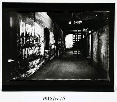 Anne Noble; Graffitti - The Char End Chelsea Sugar Refinery Auckland 84; 1984; 1984/14/9.3