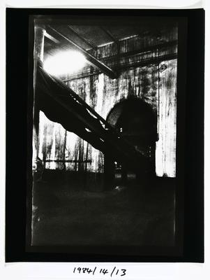 Anne Noble; The Char End, Chelsea Sugar Refinery; 1984; 1984/14/9.5
