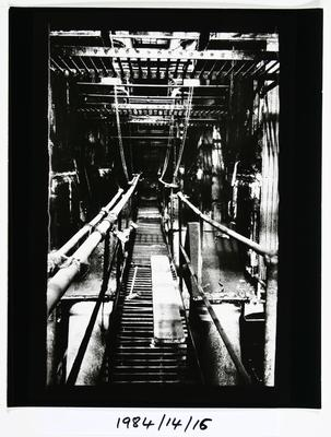 Anne Noble; The Char End - Chelsea Sugar Refinery Auckland 1984; 1984; 1984/14/9.8