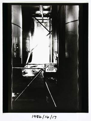 Anne Noble; The Char Cisterns, The Char End. Chelsea Sugar Refinery Auckland '84; 1984; 1984/14/9.9