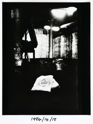 Anne Noble; Char Bags & Spent Char. The Char End Chelsea Sugar Refinery Auckland '84; 1984; 1984/14/9.10