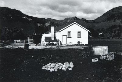 Cookhouse, Matahiwi, Wanganui River 1981