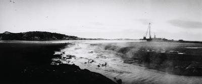Outflow from Imlay Freezing Works, Wanganui, 1982