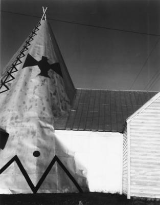 Rita Dibert; Tepee souvenirs, Route 20, Otsego County, NY. From the Native American Genocide Series.; 1991; 2000/17/2