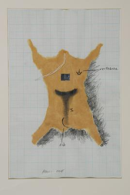 Andrew Drummond; Eight Decades, a series of 11 drawings for the work.; 1980; 1980/5/1