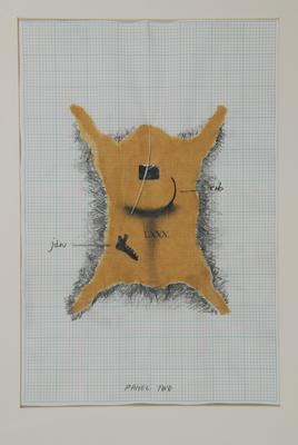 Andrew Drummond; Eight Decades, a series of 11 drawings for the work.; 1980; 1980/5/2