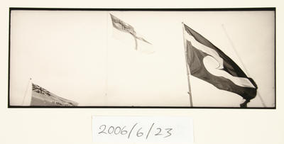 Waitangi Day - Flags, Waitangi, NZ. From the Exploring the Myth of New Zealand Series