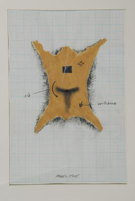 Andrew Drummond; Eight Decades, a series of 11 drawings for the work.; 1980; 1980/5/5