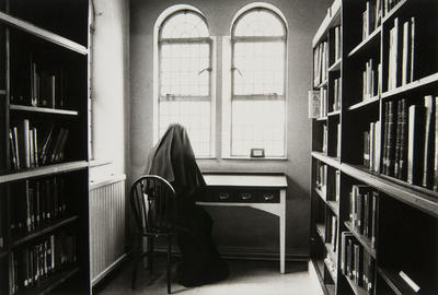 The library, described by the foundress as the arsenal of the monastery.