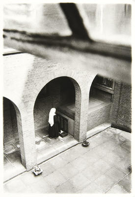 The tomb of the Foundress, Adele Garnier, is in a courtyard in the centre of the monastery.