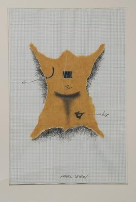 Andrew Drummond; Eight Decades, a series of 11 drawings for the work.; 1980; 1980/5/7