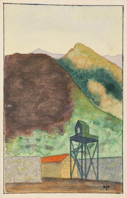 Untitled (watch tower)