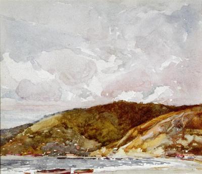 Andrew Carbury; Cloud Study; 1980/11/14