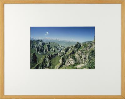 Mountains near Kumbum, Amdo, North East Tibet, 1990