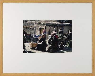 Hamish Horsley; Market Scene, Labrang, Amdo, North East Tibet, 1990; 1990; 1997/2/18