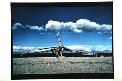 Prayer Flags, Lake Manasarorar, West Tibet, 1990