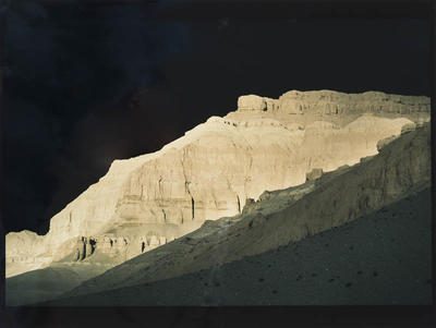 Hamish Horsley; Approaching storm, Toling Guge, West Tibet, 1990; 1990; 1997/2/11