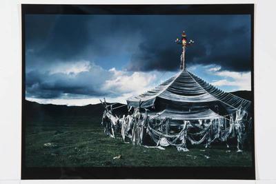 Hamish Horsley; Prayer Flags, Honguan, Amdo, North East Tibet, 1990; 1990; 1997/2/15