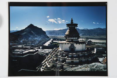Pango Chorten, Gyantse, Central Tibet, 1987