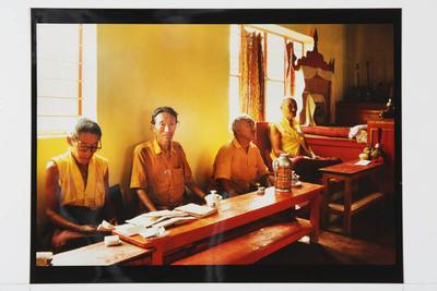 Nyingma Monks, Hunsur, South India, 1994