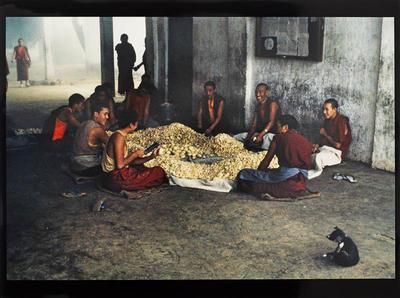 Hamish Horsley; Kitchen area, Drepung Monastery, South India, 1994; 1994; 1997/2/34