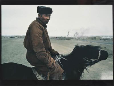 Horseman, Gobi Altai, West Mongolia, 1992