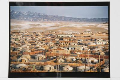 Hamish Horsley; Gobi Altai township, West Mongolia, 1992; 1992; 1997/2/52