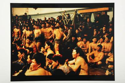 Wrestling tournament, Ulan Batar, Mongolia 1992
