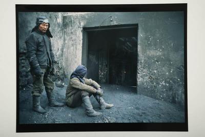 Hamish Horsley; Power station workers, Gobi Altai, West Mongolia, 1992; 1992; 1997/2/55
