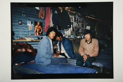 New arrivals from Tibet, Dharamsala, India, 1995