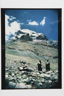 Pilgrims at Mt Kailas, West Tibet, 1990
