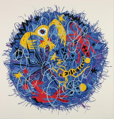 Debra Bustin; The Sky; 1986; 1986/16/5