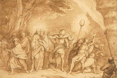 Bernadino Poccetti; Italian School; The Betrayal of Jesus Christ; 17th Century; 1922/1/5