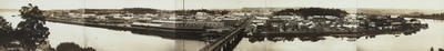 Panorama of Wanganui from Durie Hill