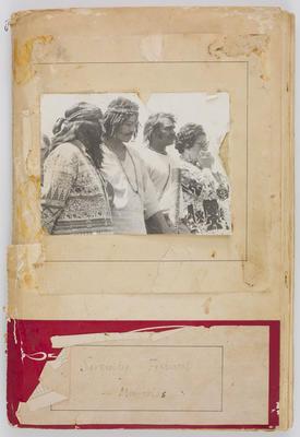 Hamish Horsley; Serenity Festival 'Memories' scrapbook; 1972-1973; 2021/2/1