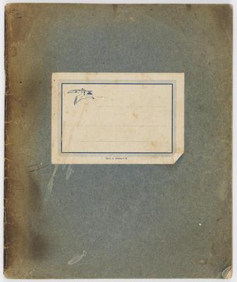 James Alp; Prisoner of War Diary; 1945; A2021/7/1