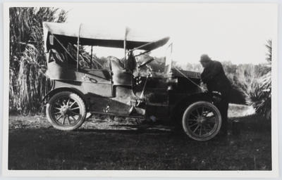 Unknown; First Car. Humber car and Henry Collier; Circa 1910s; A2015/1/119