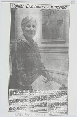 Unknown; Collier Exhibition Launched; 15 Jan 1980; A2015/1/410