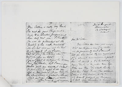 Margaret Preston; Letter to Eliza Collier from M. Macpherson 2nd August year unknown; Unknown; A2015/1/434