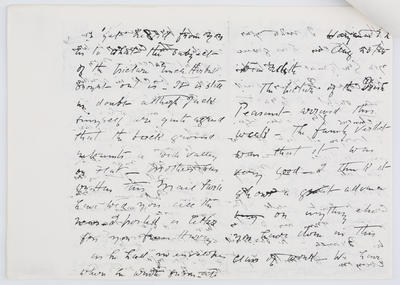 Henry Collier; Letter to Edith Collier from her Father 25 August 1915; 25 Aug 1915; A2015/1/450